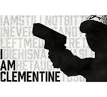 TWDG I Am Clementine Photographic Print