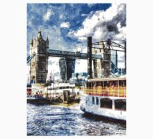Tower Bridge and the Elizabethan One Piece - Long Sleeve