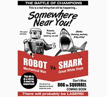 Robot vs. Shark T-Shirt