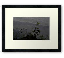 HDR Composite - Sky Reflected in Pond Framed Print