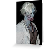 Zombie 38 Greeting Card