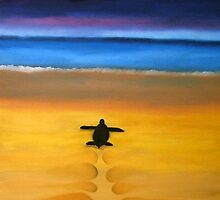 Turtle beach by Nicole Whittaker