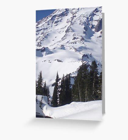 Mt. Rainier, Washington Greeting Card