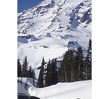 Mt. Rainier, Washington Photographic Print