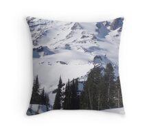 Mt. Rainier, Washington Throw Pillow
