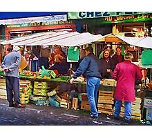 Street Stall Mont Matre Photographic Print