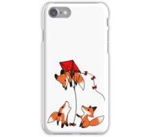 Having fun up there? iPhone Case/Skin
