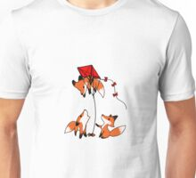 Having fun up there? Unisex T-Shirt