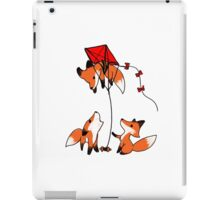 Having fun up there? iPad Case/Skin