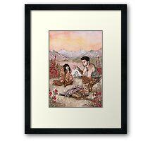 Unuusual Companions ... Framed Print