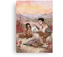 Unuusual Companions ... Canvas Print