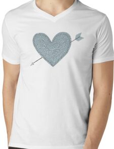 armour love Mens V-Neck T-Shirt