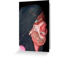 Zombie 31 Greeting Card