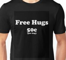 free hugs black Unisex T-Shirt