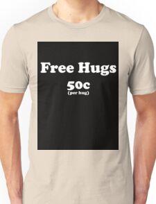 free hugs black T-Shirt