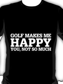 Happy Golf T-shirt T-Shirt