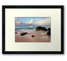 Silken Waters Framed Print