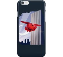 Baymax in the air! iPhone Case/Skin