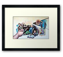 Retail Therapy Framed Print