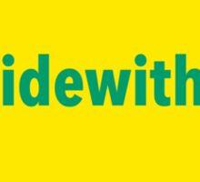 #illridewithyou Sticker