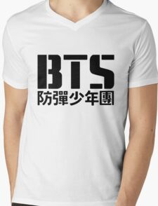 BTS Bangtan Boys Logo/Text T-Shirt
