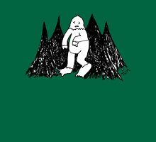 the lonely life of a yeti Unisex T-Shirt