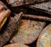 Rusty Treasure #1 Sticker