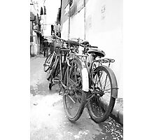 Shanghai Bicycles Photographic Print