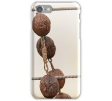 rope on boat iPhone Case/Skin
