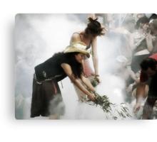 Opening Ceremony @ Rainbow Serpent Festival 2008 Canvas Print