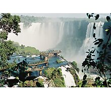 Iguazu in Brazil Photographic Print