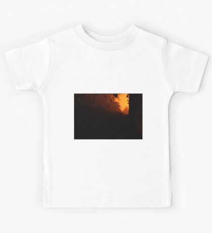 HDR Composite - Trees at Night with Strange Green Light Kids Tee