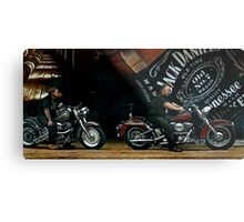 JD and Harley - Made for Each Other Metal Print