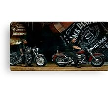 JD and Harley - Made for Each Other Canvas Print