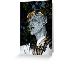 Zombie 27 Greeting Card