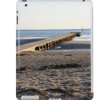 The beach in winter iPad Case/Skin