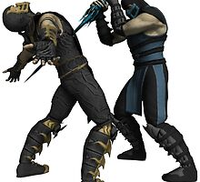 Scorpion Vs SubZero by MarkAstz97