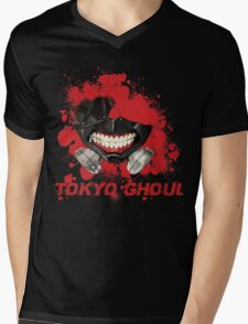 Tokyo Ghoul Mens V-Neck T-Shirt