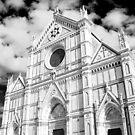 Santa Croce Church by Kent Nickell