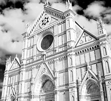 Santa Croce Church by Kent Nickell