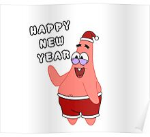 Happy New Year  Patrick Star  Poster