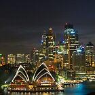 Sydney Fireworks by Dev Wijewardane
