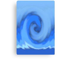 a surfers office Canvas Print