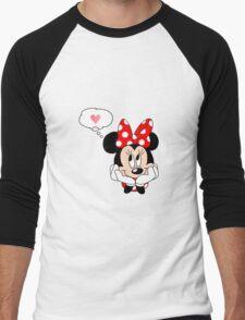 Minnie Mouse Men's Baseball ¾ T-Shirt