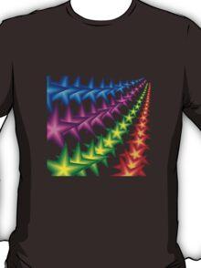 vivid star stripes T-Shirt