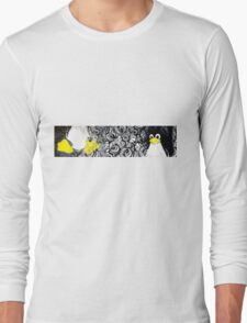 Penguin Linux Tux art graphic Long Sleeve T-Shirt