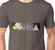 Penguin Linux Tux art graphic Unisex T-Shirt