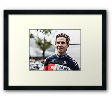 Thomas Löfkvist (IAM Cycling) Framed Print