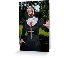 Zombie 18 Greeting Card