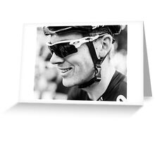 Ben Swift (Team Sky) Greeting Card